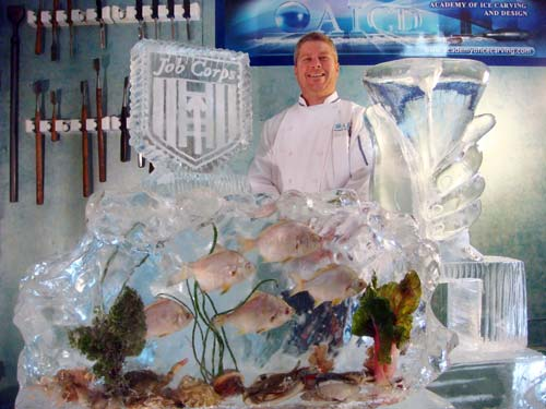 Jeff Lee Ice Sculptures